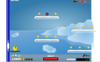 תמונה מתוך המשחק Pacman Platform 2