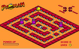 תמונה מתוך המשחק  Isometric PacMan