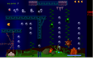 תמונה מתוך המשחק Mad Pac Underwater